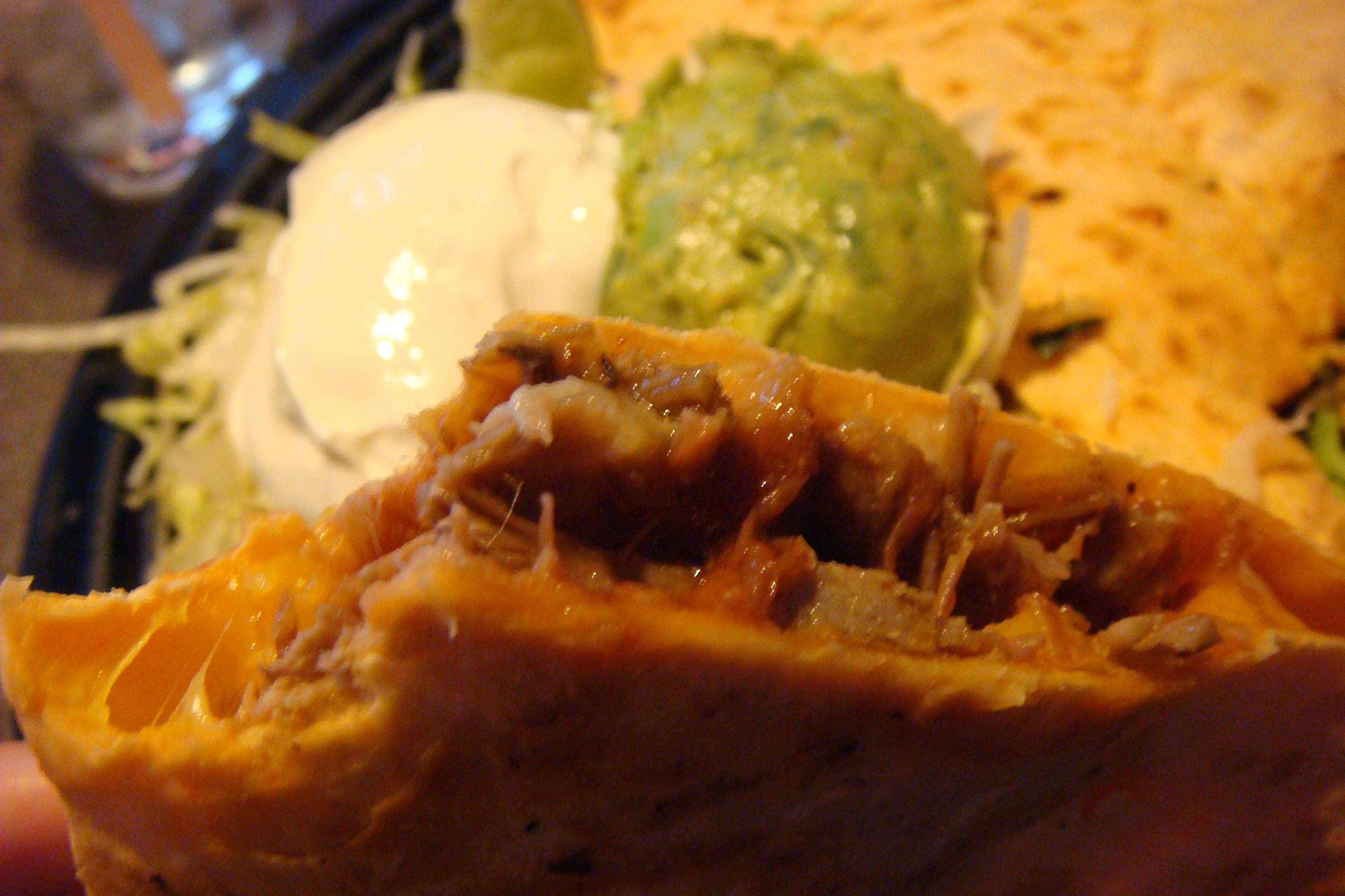 BBQ Pulled Pork Quesadilla