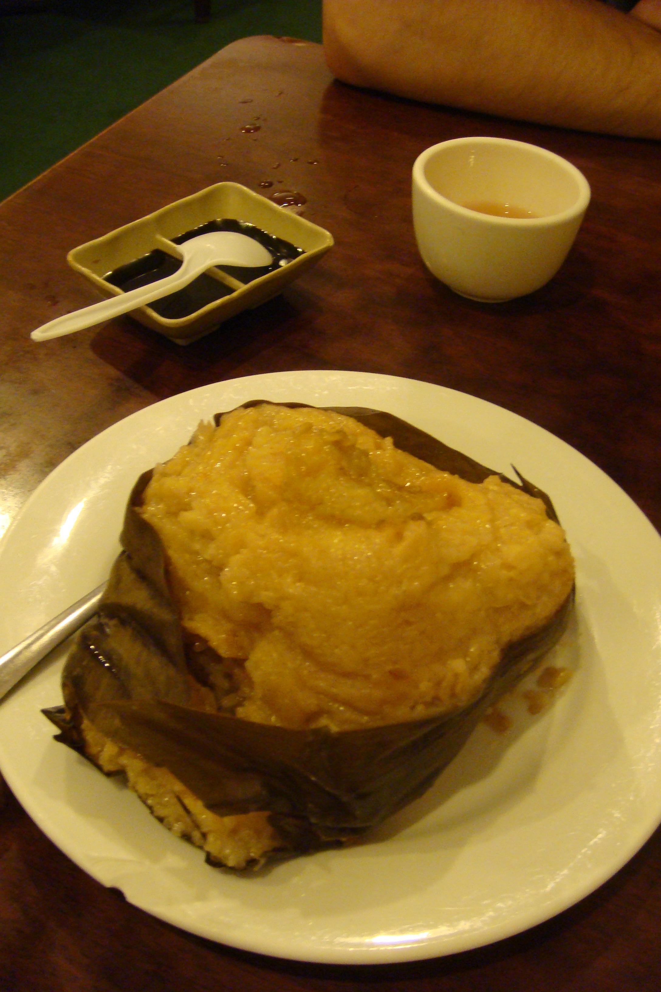 Vegetarian Dim Sum - Glutinous Rice