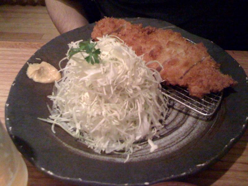 Menchanko Tei, Katsuhama - Pork Katsu