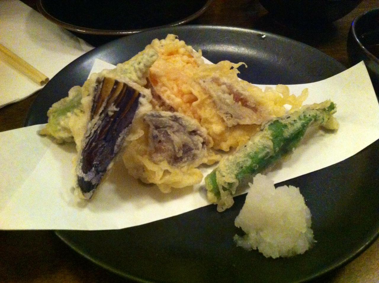 SobaKoh - Vegetable Tempura