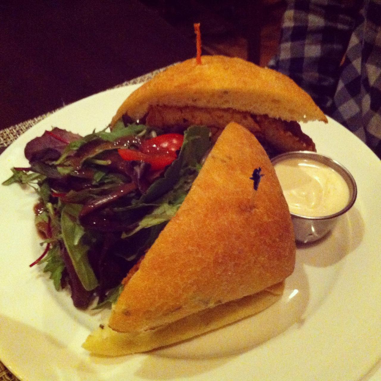 Cajun Seitan Sandwich - Candle Cafe West