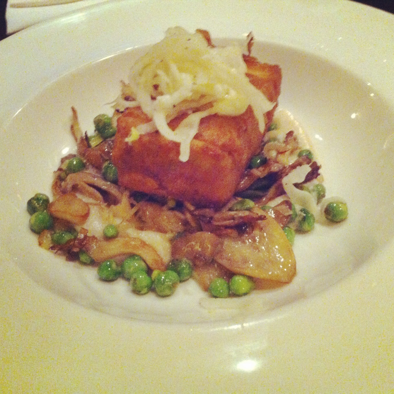 Morel Crusted Tofu - Candle Cafe West