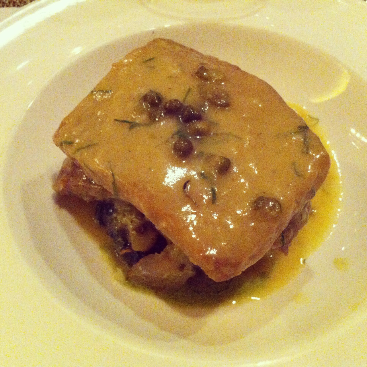 Seitan Piccata - Candle Cafe West