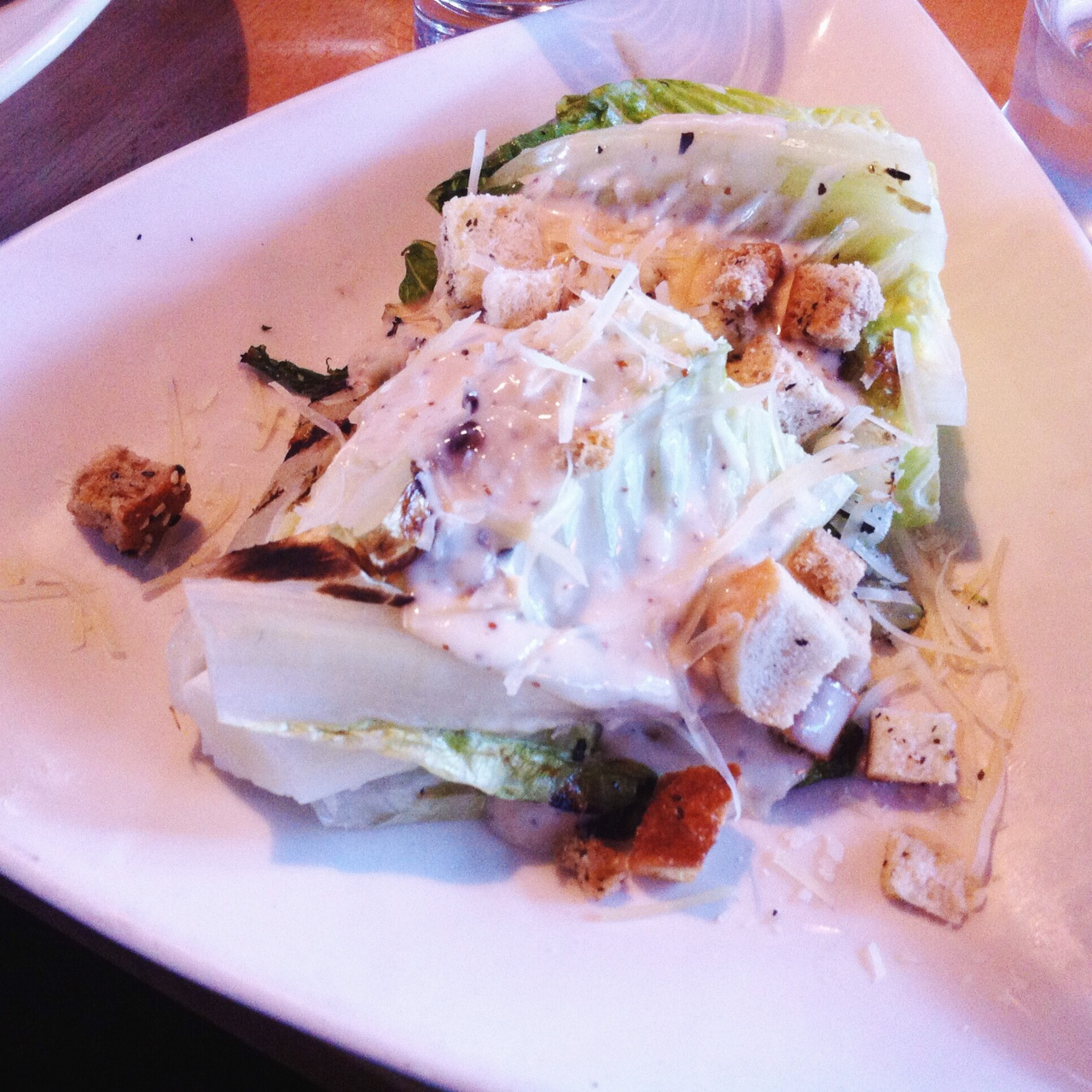 Grilled Caesar Salad - Bonfyre Grill, Madison