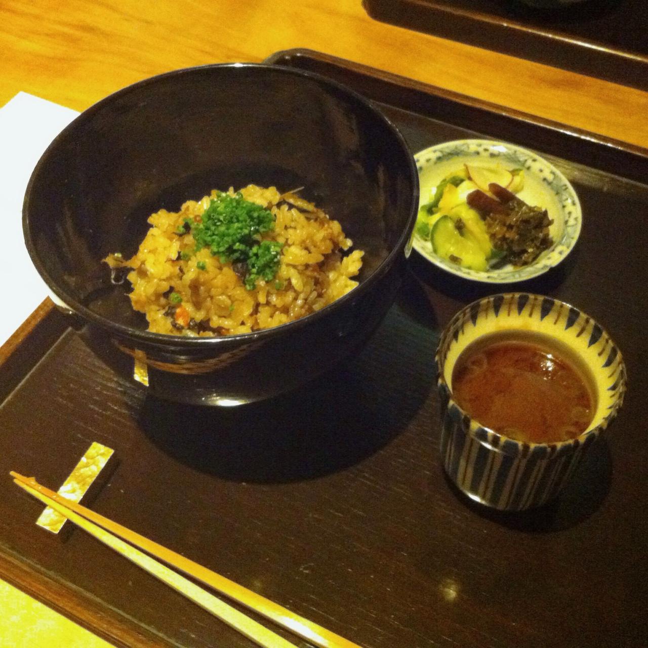 Burdock Roots Rice, Kajitsu