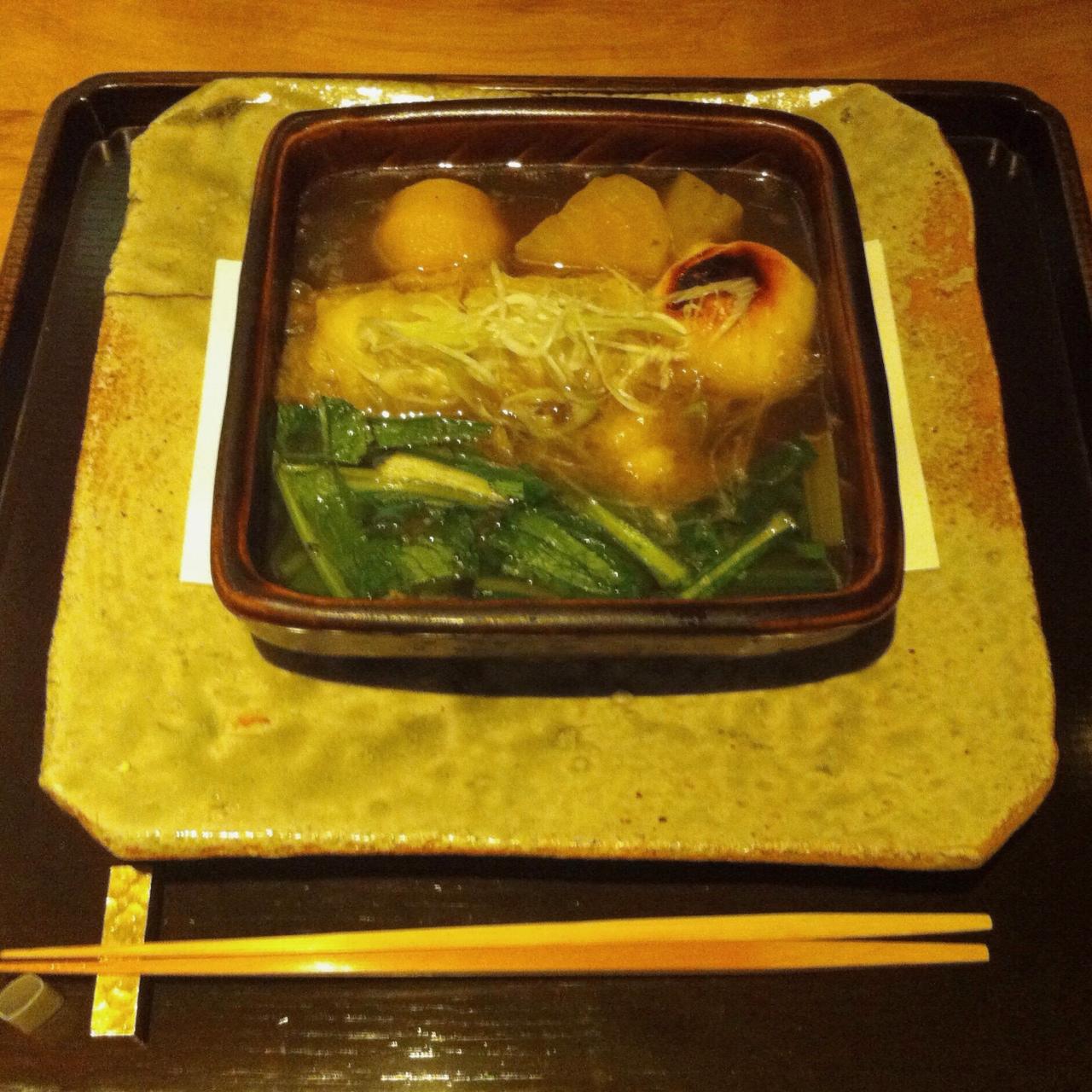 Lobster Mushroom Hot Pot, Kajitsu