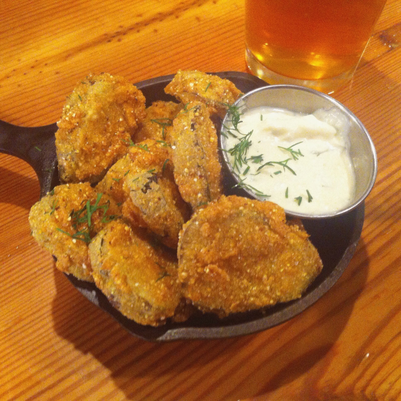 Fried Hop Pickles - The Pickle Shack, Brooklyn