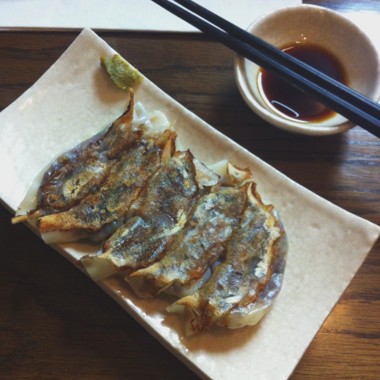 Vegetable Gyoza, Hinata Ramen