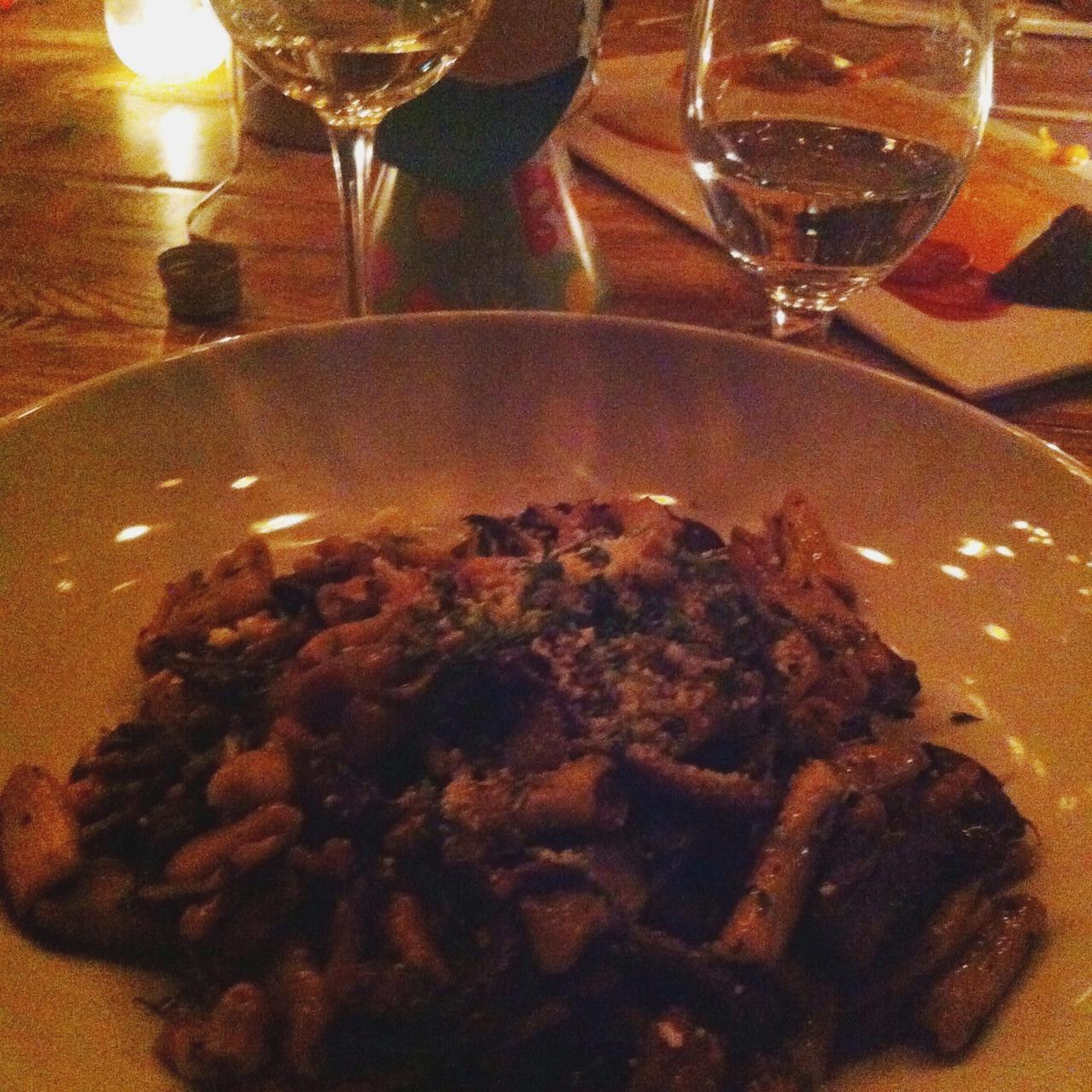 Wild Mushroom Cavatelli, Fraunces Tavern