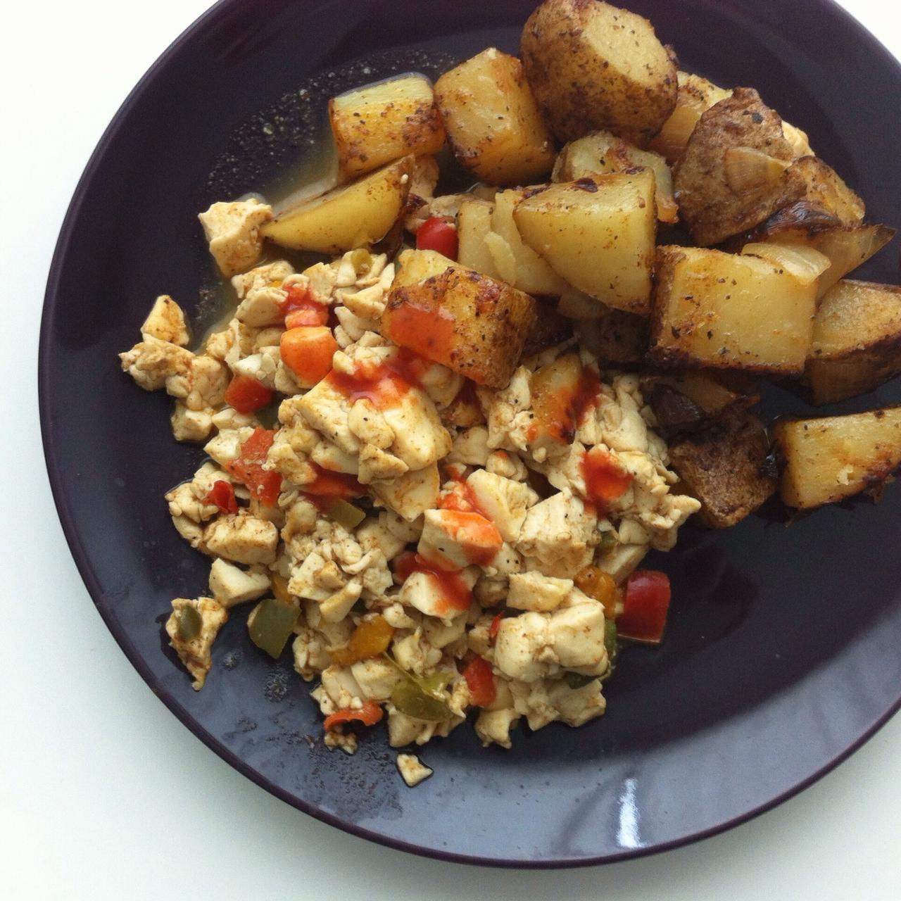 Scrambled Tofu & Home Fries