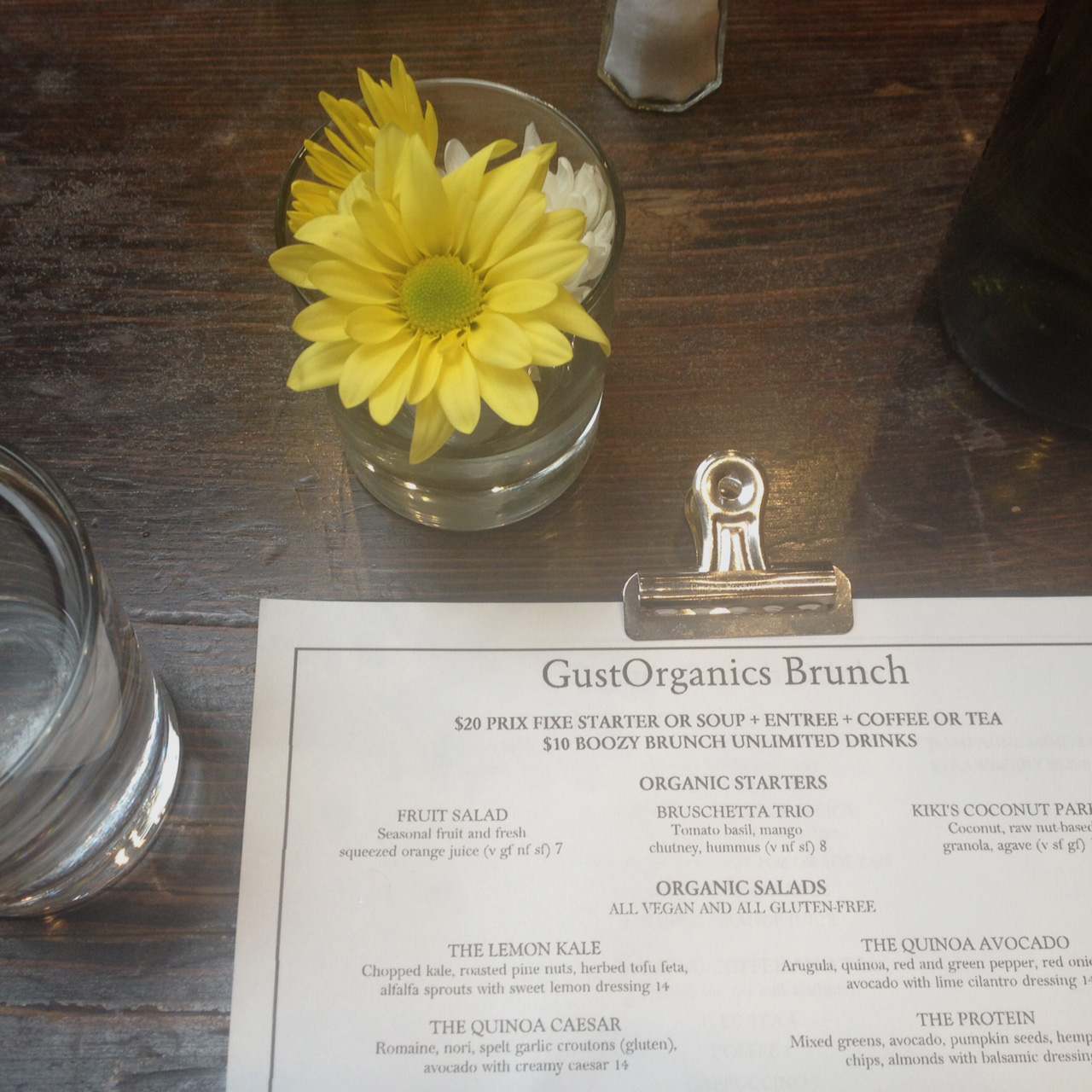 Gust Organics, West Village