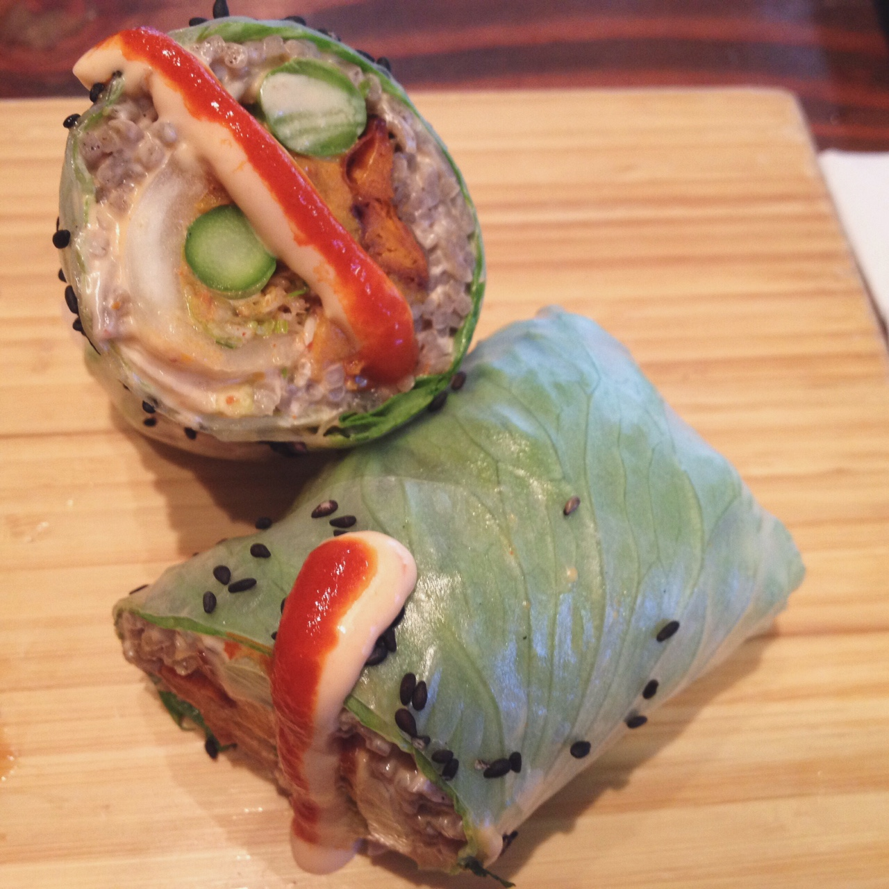 Sweet Angel Wrap, Beyond Sushi