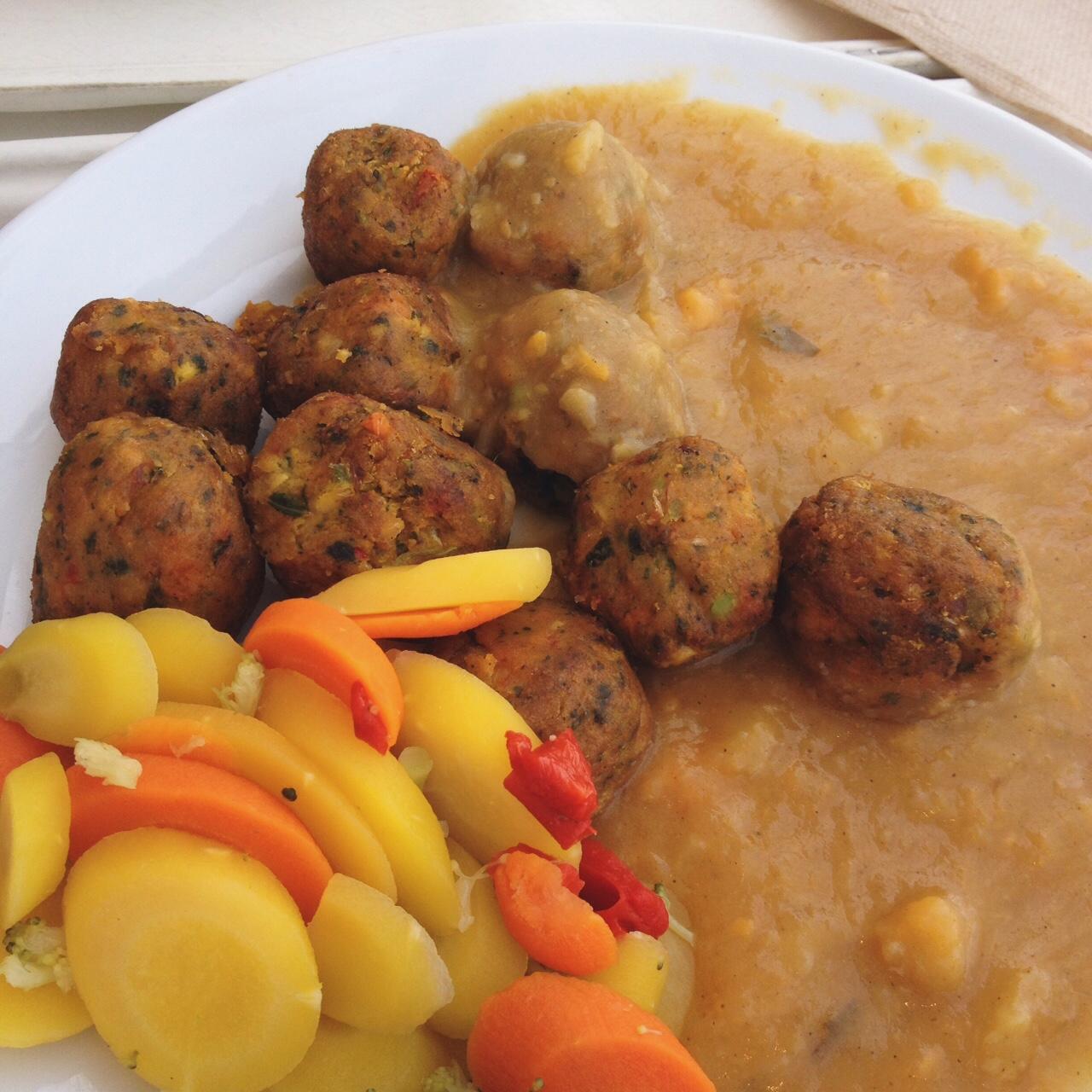 IKEA Vegan Vegetarian Meatballs