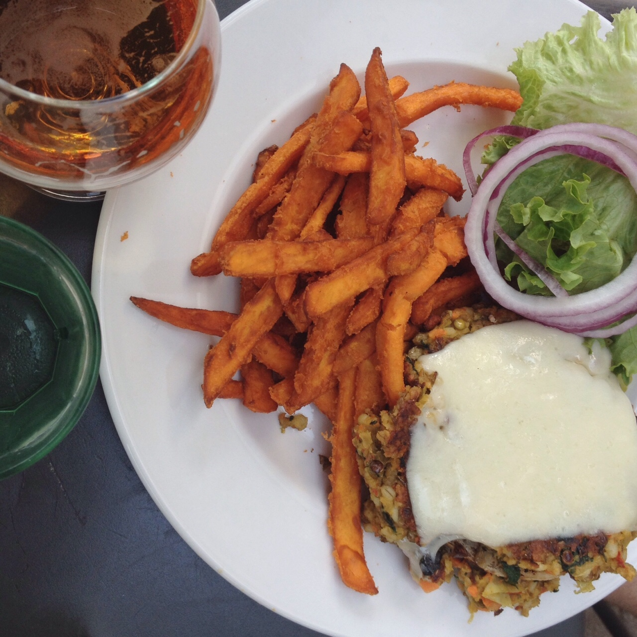 Veggie Burger, Open City
