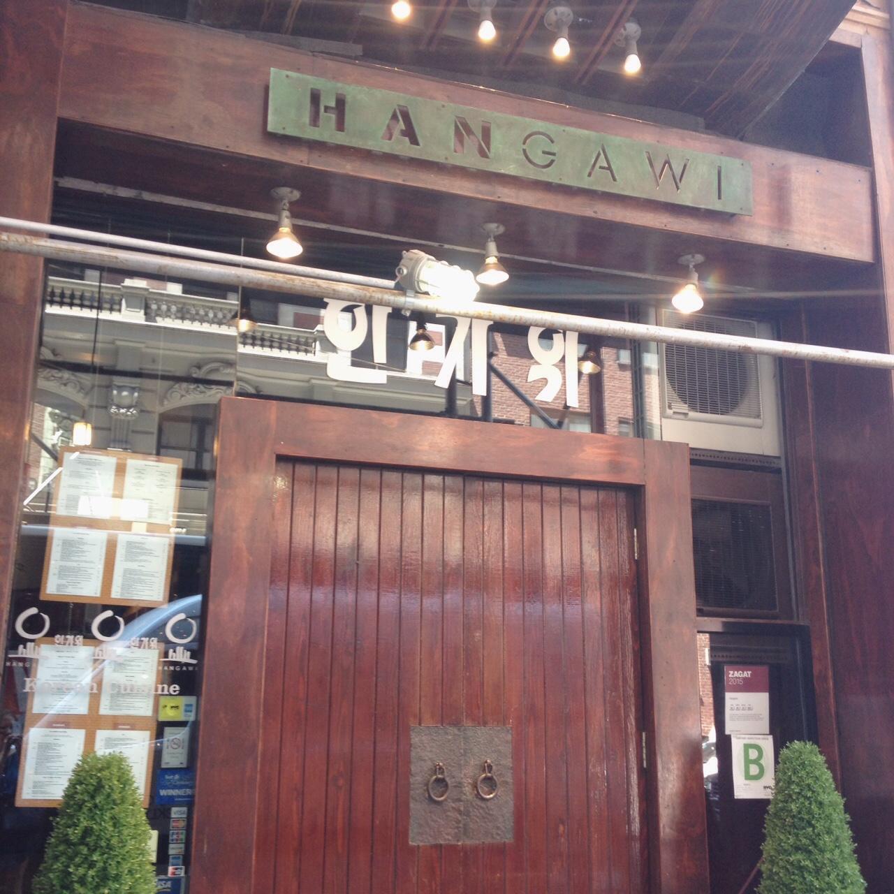 Hangawi, Koreatown
