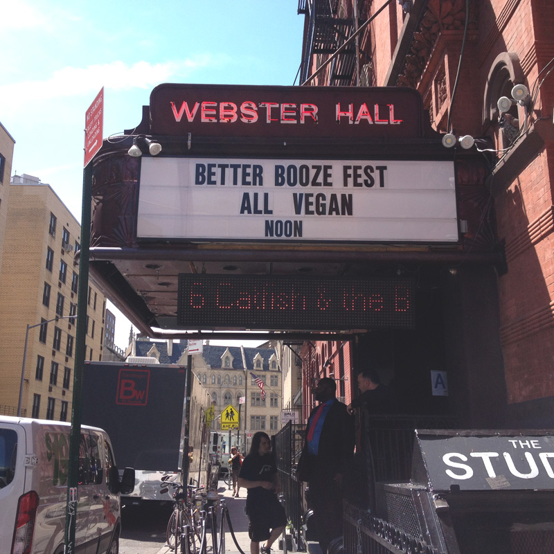 Better Booze Festival, Webster Hall