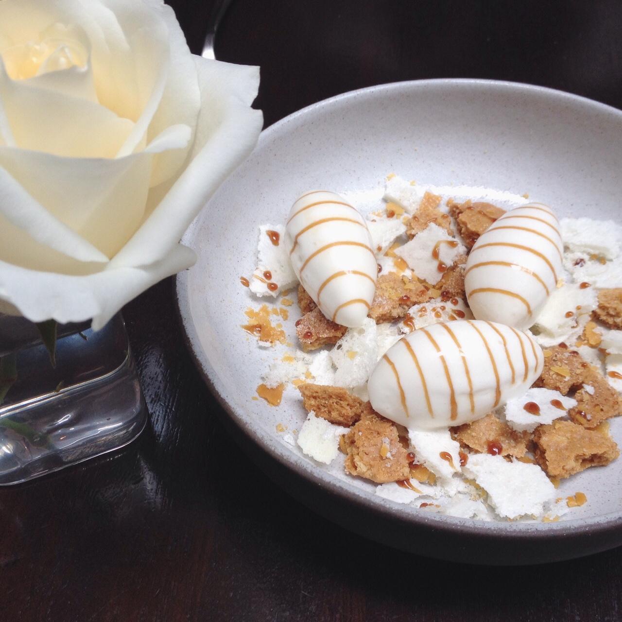 Honey & Milk, Brittle, Shortbread, Ice Cream - Nomad