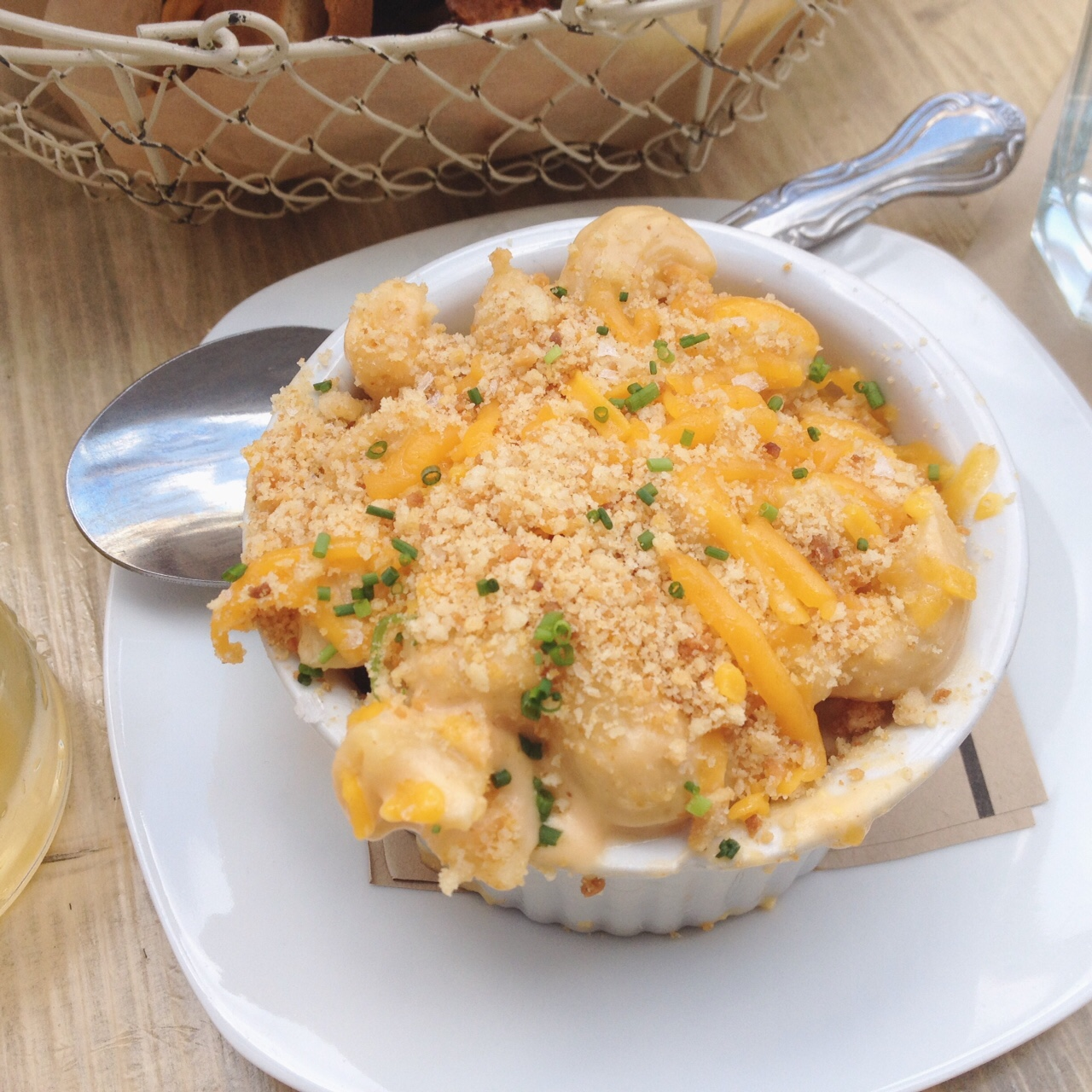 Mac and Cheese, Root and Bone