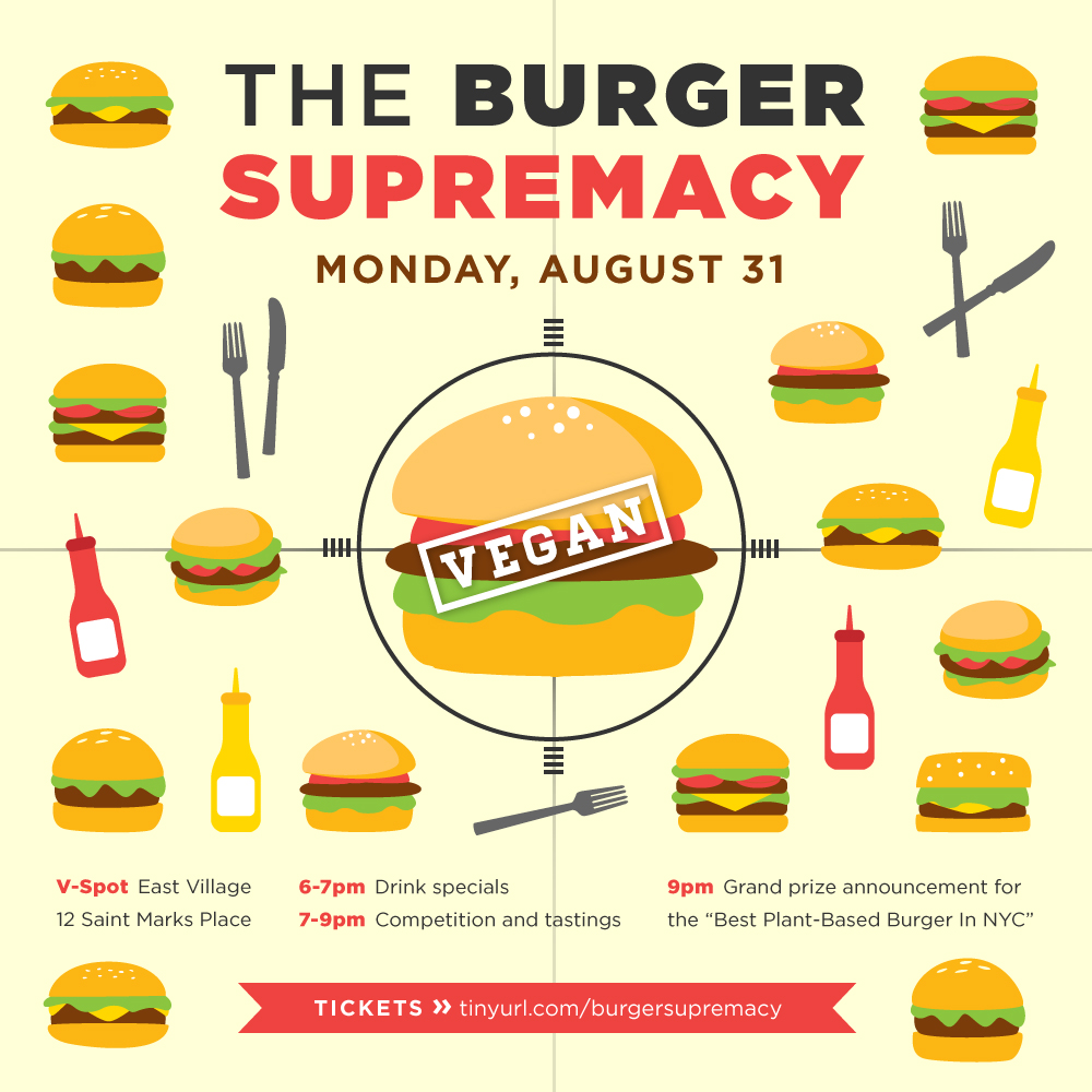 The Burger Supremacy - Vegan Burger Competition
