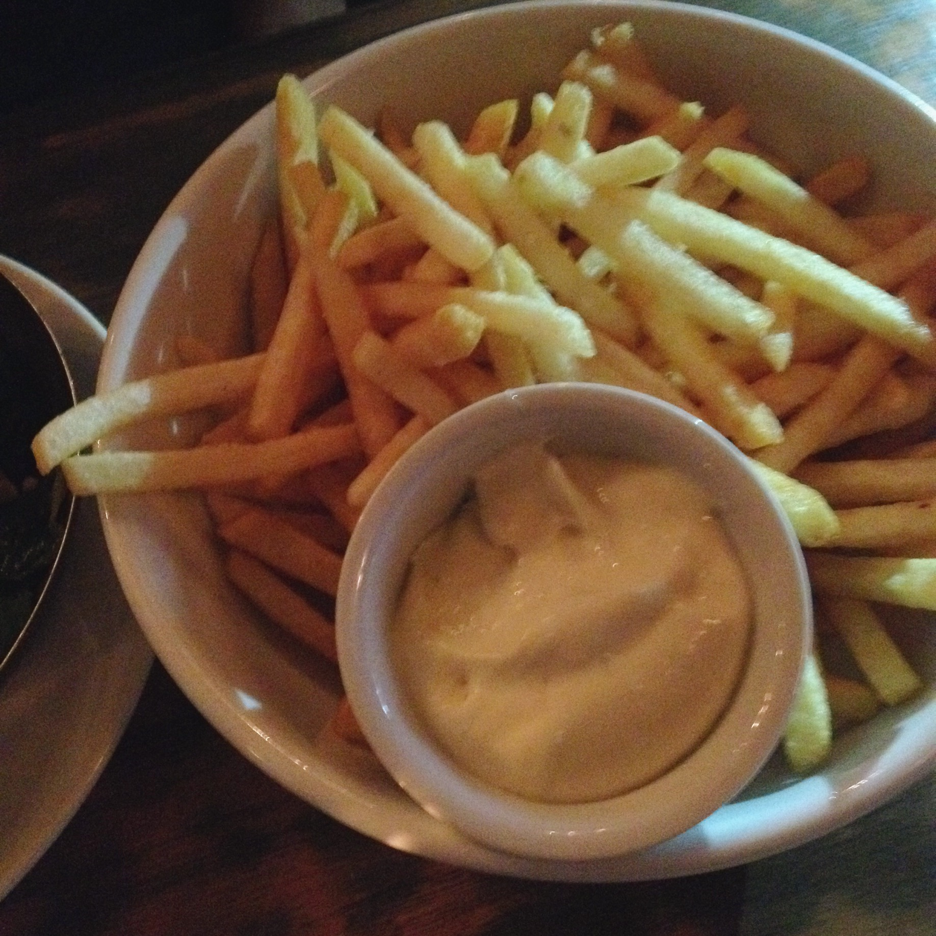 Frites with Green Tabasco Mayo, 1905 Bistro