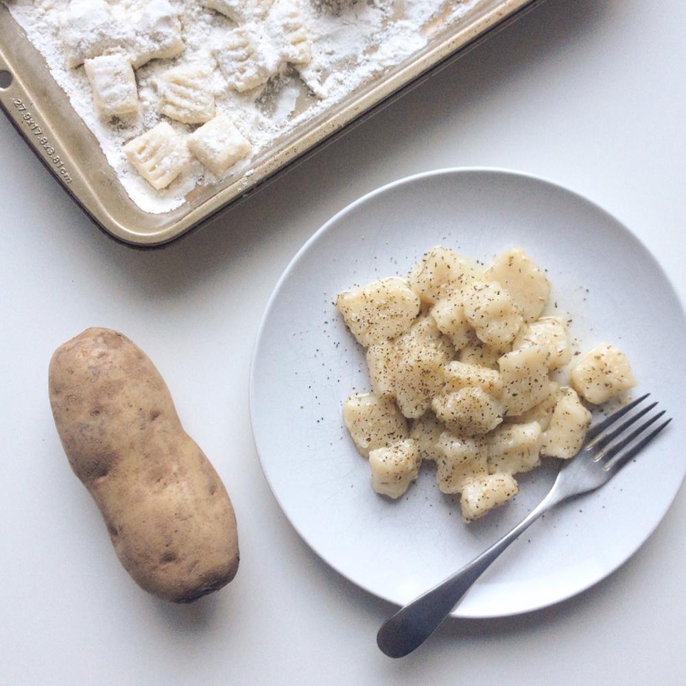 Homemade Vegan Potato Gnocchi