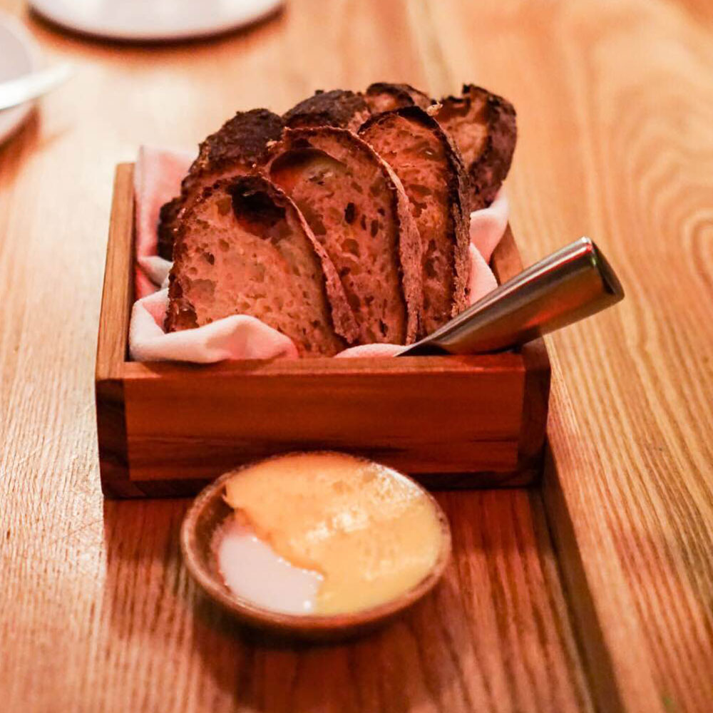 Sourdough with Cowbella Butter, Semilla