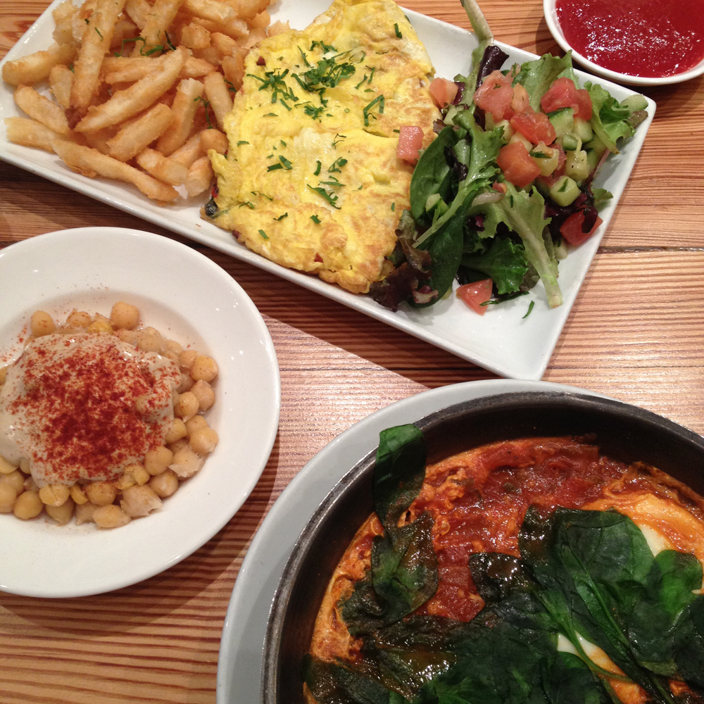 Hummus Kitchen, Vegetarian Mediterranean Brunch, Upper East Side ...