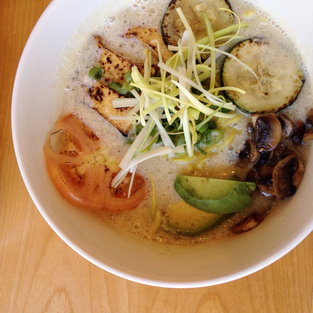 Vegetarian Vegan Ramen, Mr Taka Ramen, Lower East Side