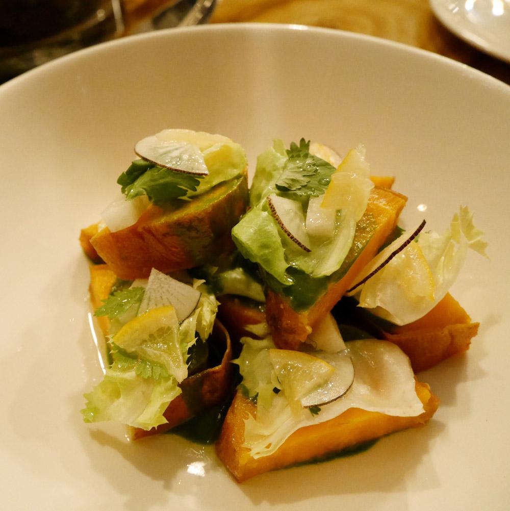 Salt Baked Sweet Potato, Avant Garden