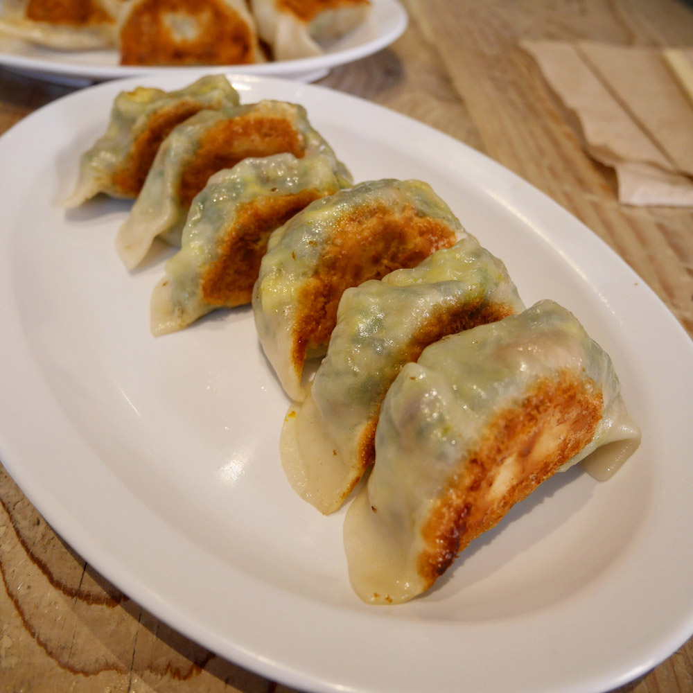 The Mighty Veggie Dumplings. Mimi Cheng's Dumplings