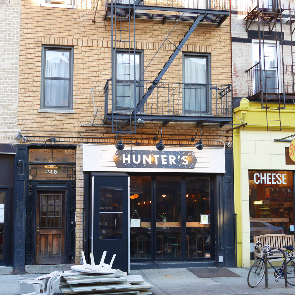 Hunter's Restaurant, Cobble Hill, Brooklyn