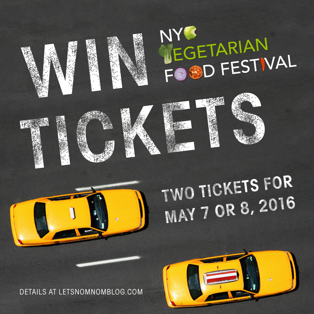 Win tickets to the 2016 NYC Vegetarian Food Festival
