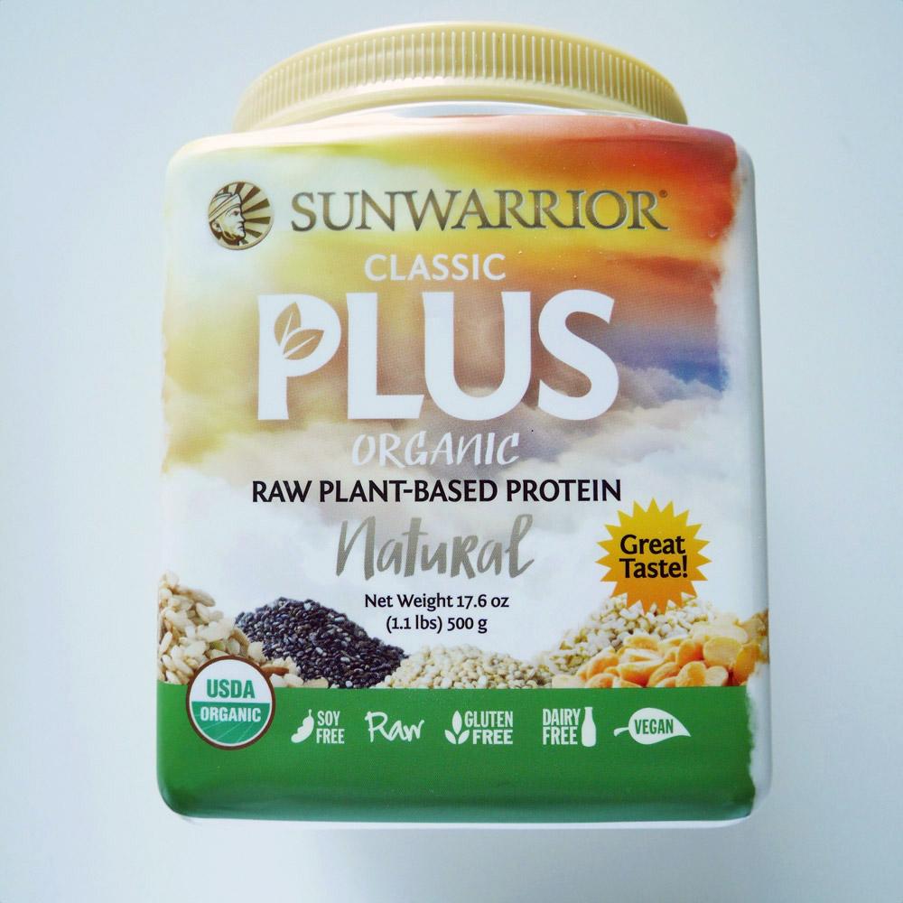 Sunwarrior Classic Plus Vegan Protein Powders