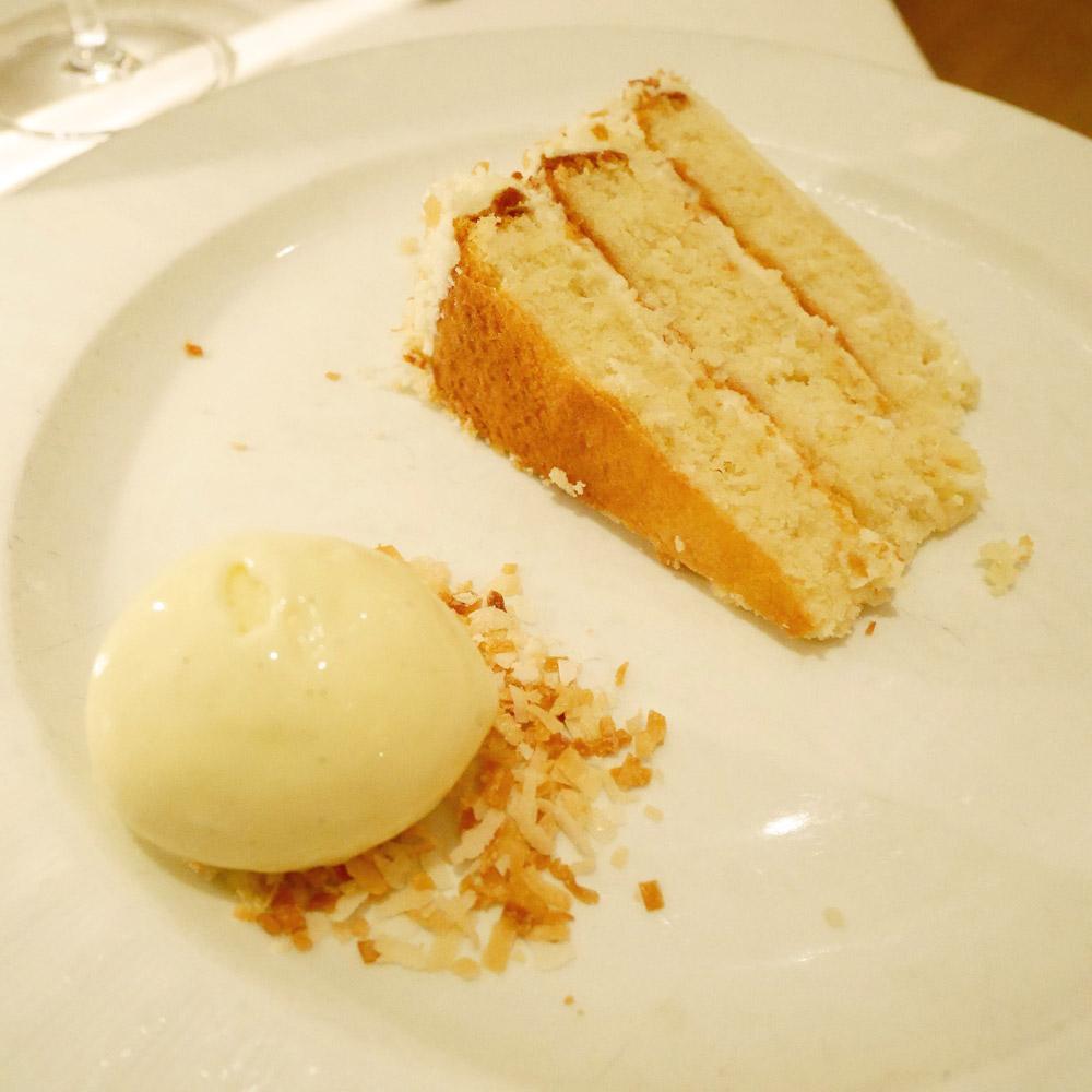 Coconut Cake, Telepan