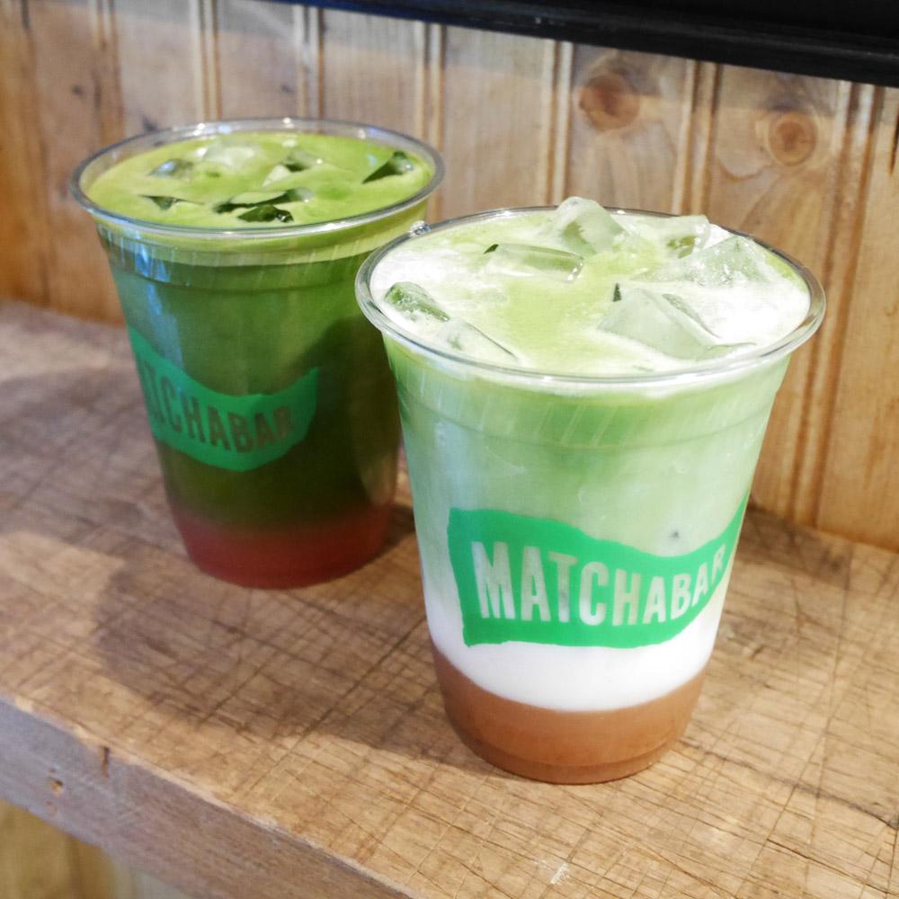 Watermelon Basil, Coconut Chai Matcha, Matchabar Chelsea