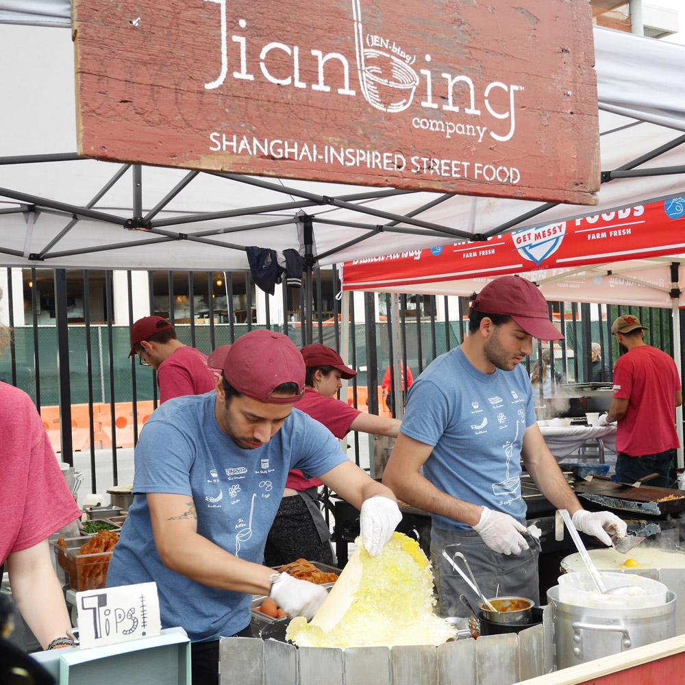 Jianbing Company, Smorgasburg, Williamsburg