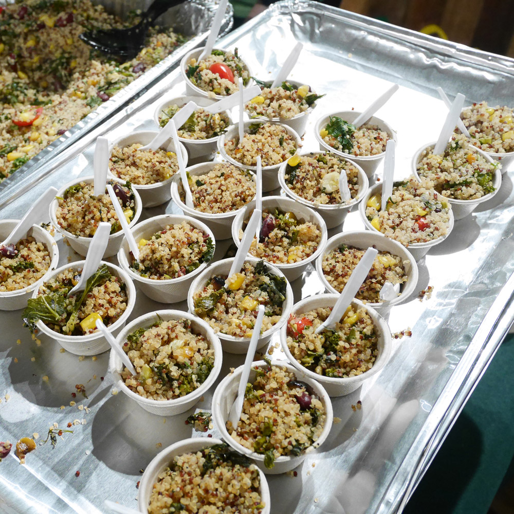 Fresh & Co Quinoa Burrito Bowl, 2016 NYC Vegetarian Food Festival