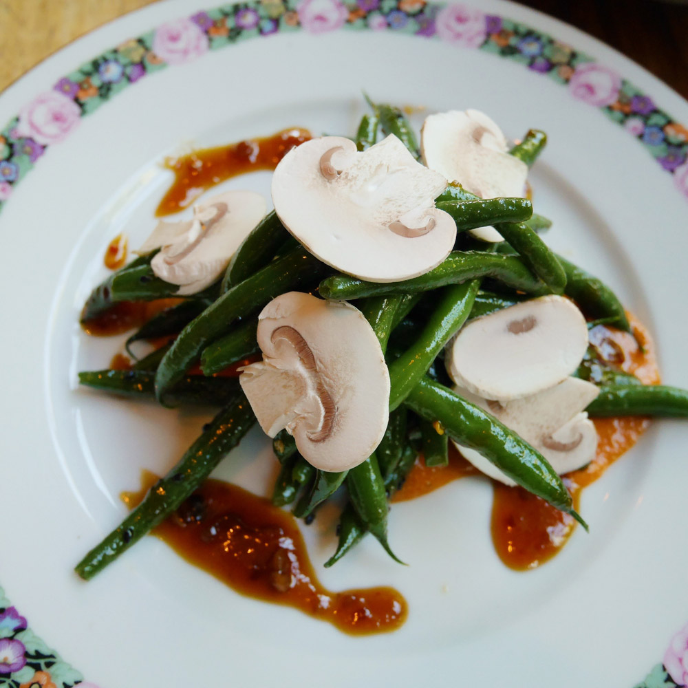 Green Bean Salad, The Hairy Lobster
