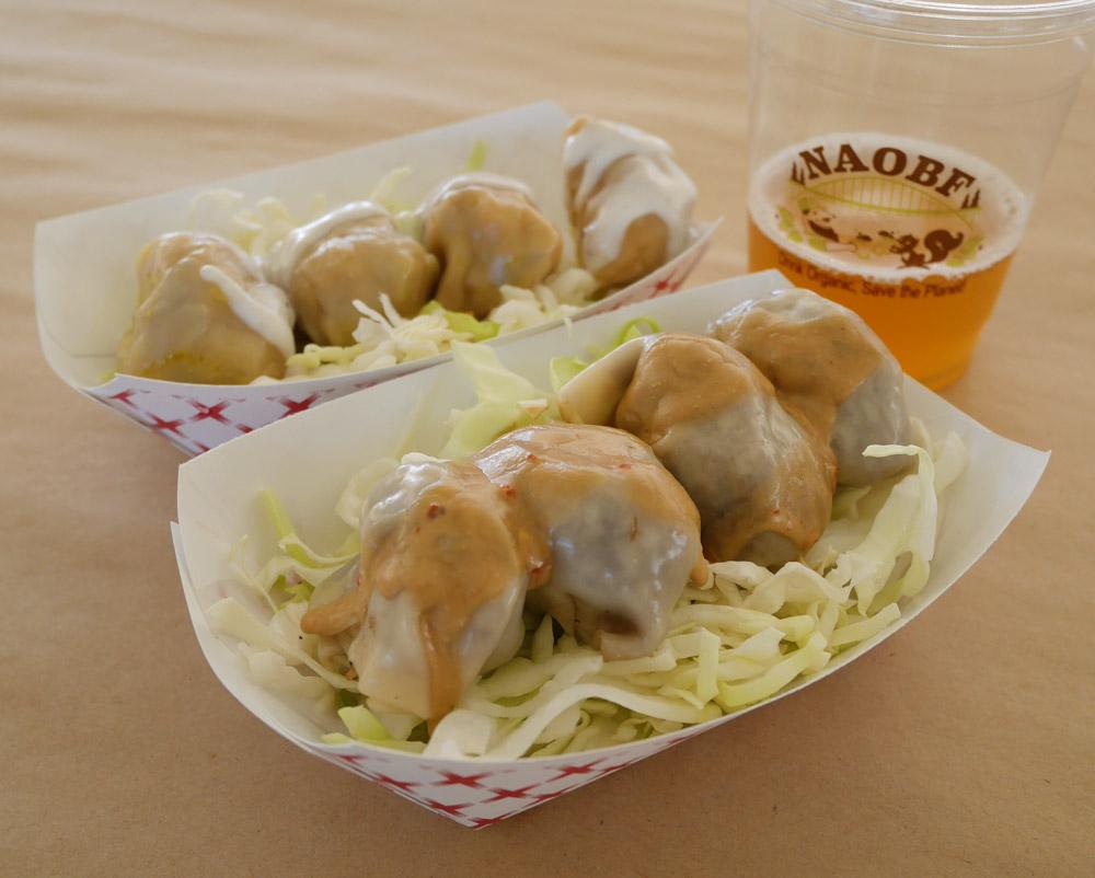 Dump Truck Dumpling Food Truck, Organic Beer Fest