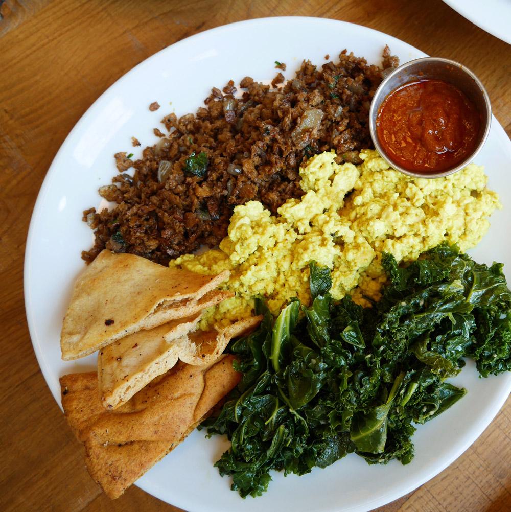 Kofta Tofu Scramble, B52 Cafe, Pittsburgh