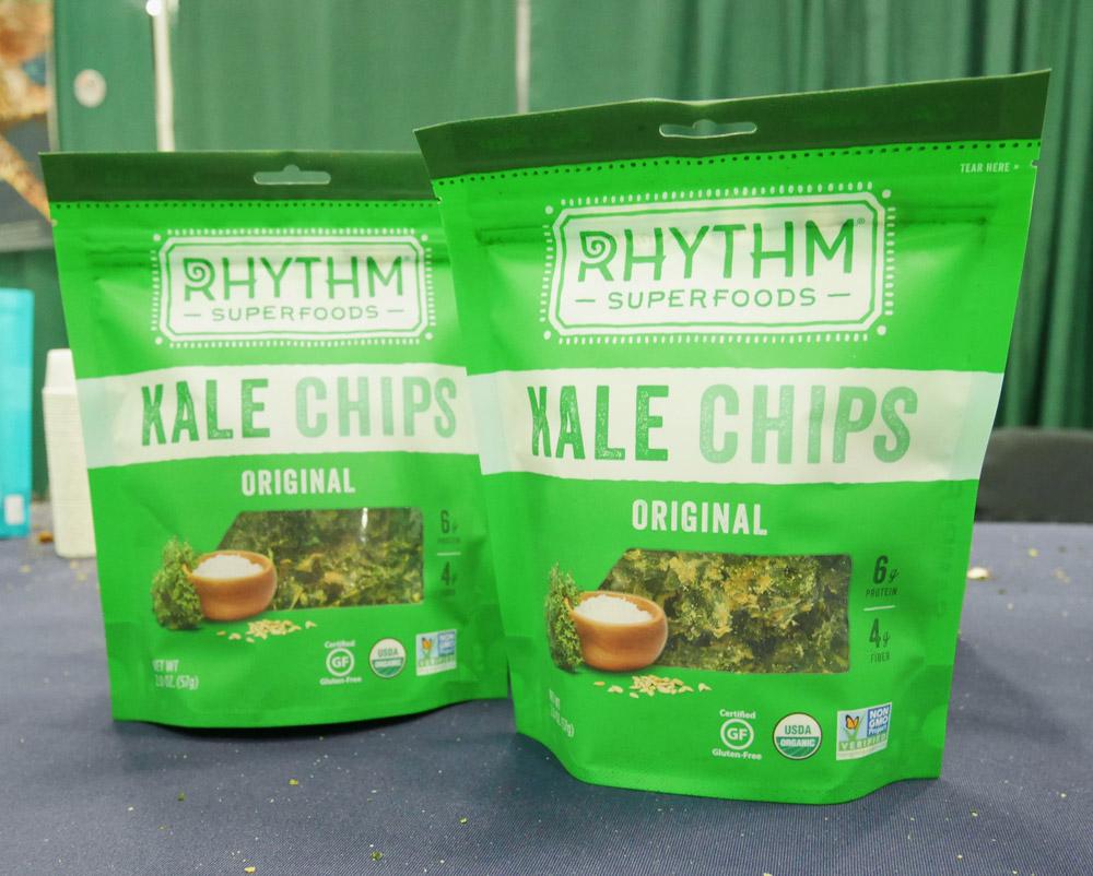 Rhythm Kale Chips, Portland VegFest