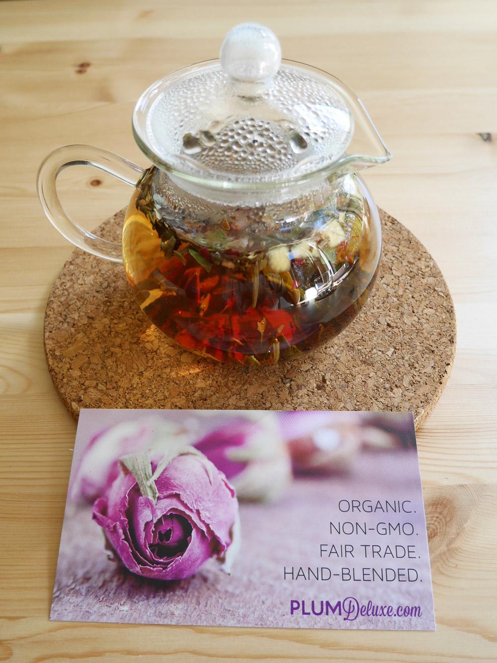 Plum Deluxe, Pomme Blossom White Tea