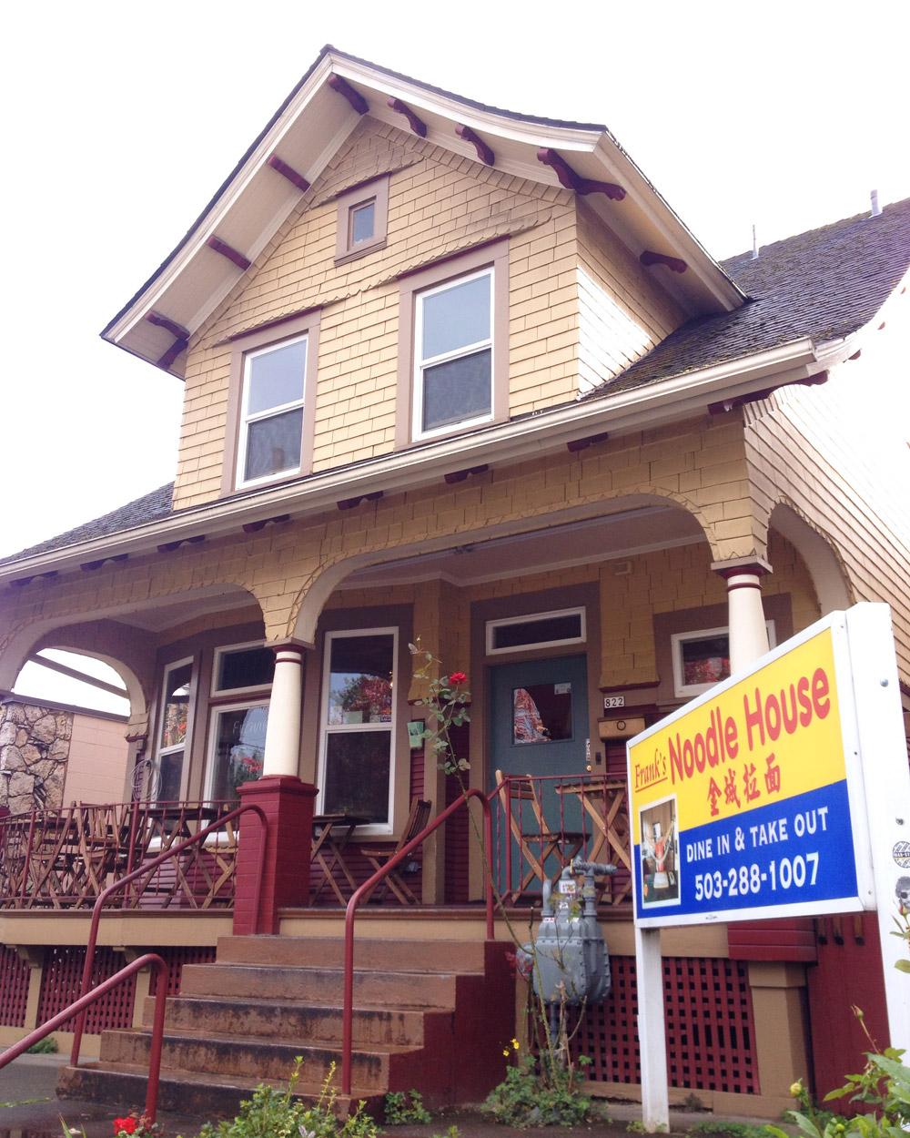 Frank's Noodle House, NE Portland