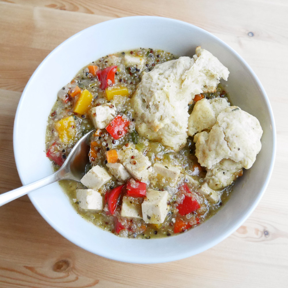 Quinoa Veggie Stew - Green Chef Organic Food Delivery