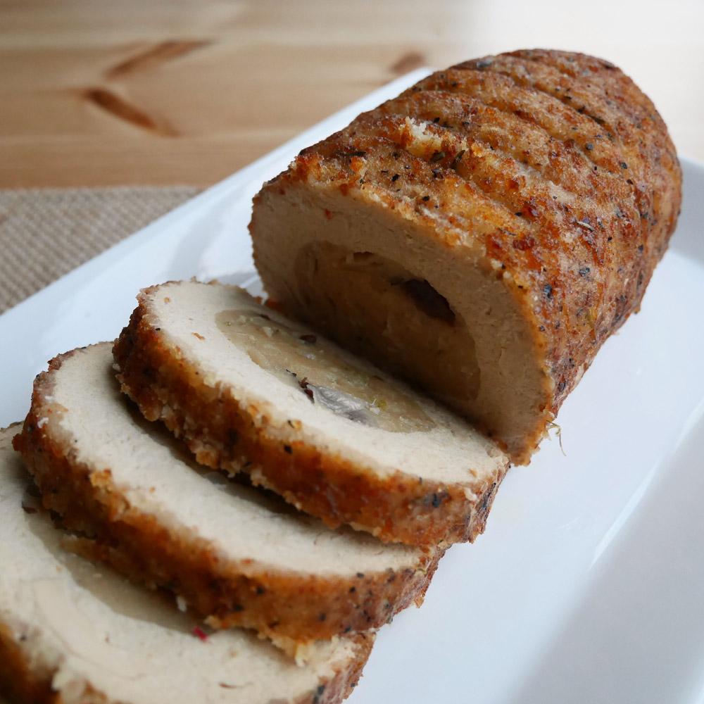 Trader Joe's Vegan Roast, Thanksgiving