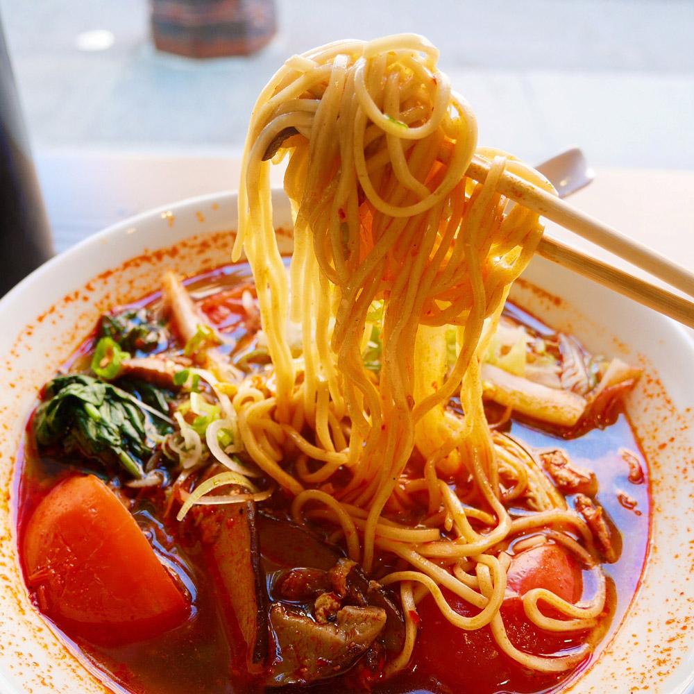 Vegan Red Ramen, Marukin Ramen