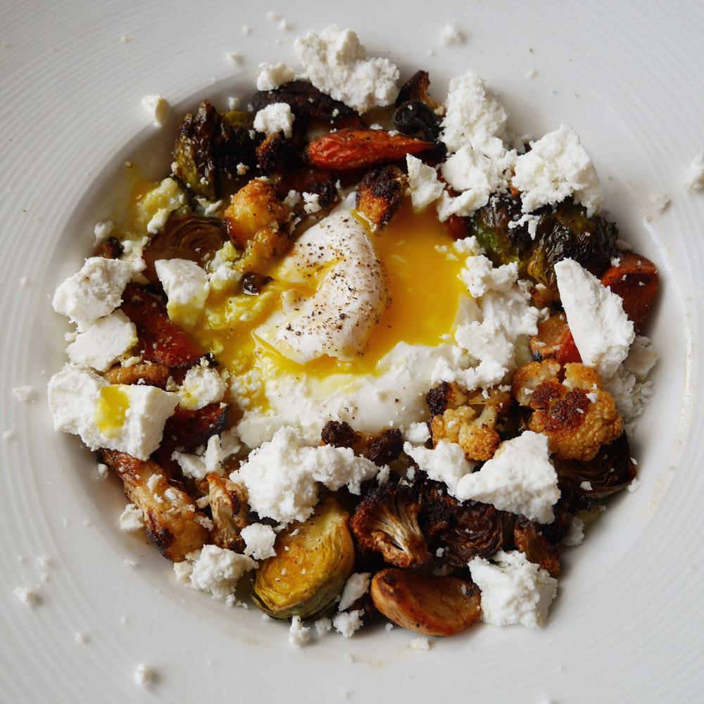 Roasted Veggies & Polenta, Accanto