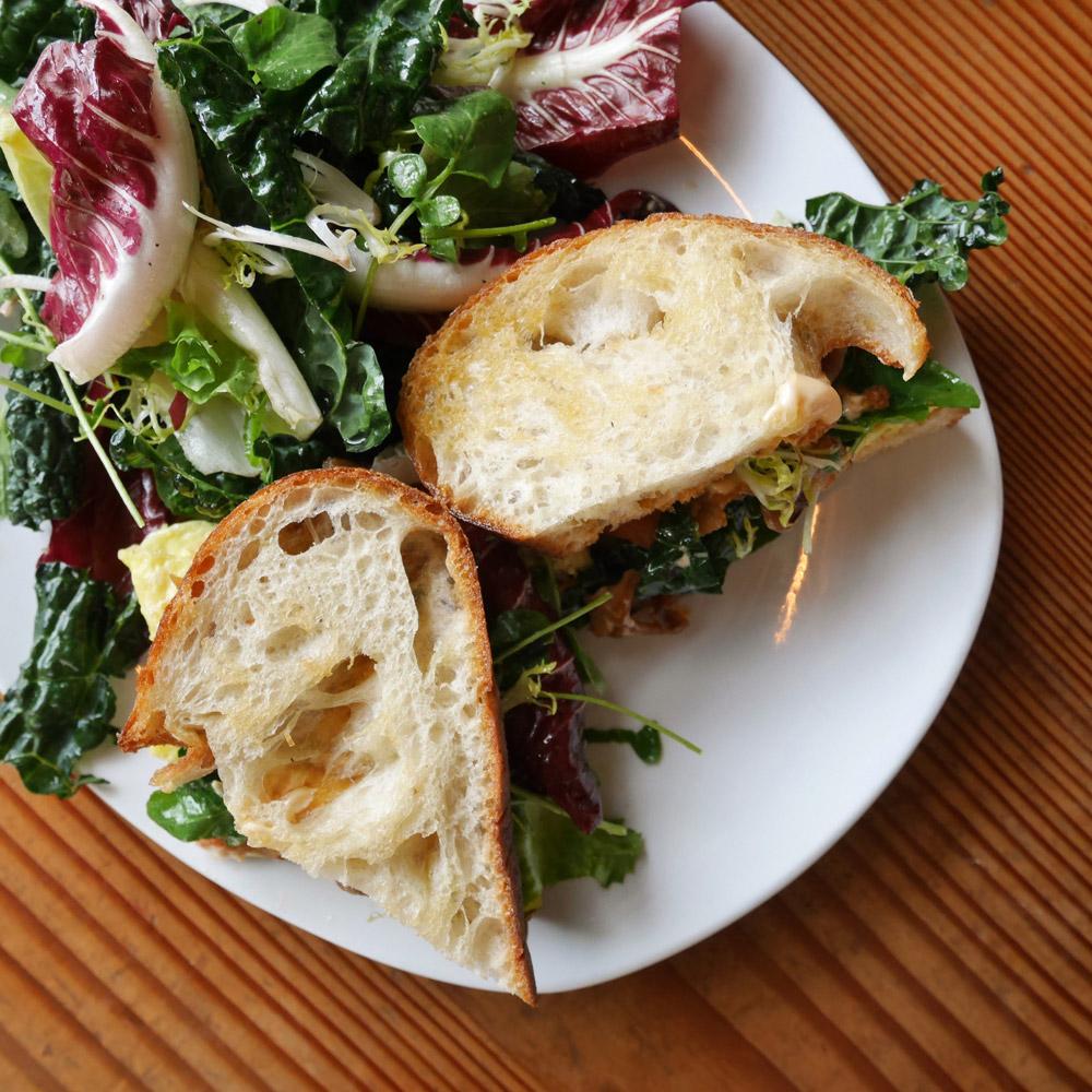 Breakfast Sandwich, Accanto