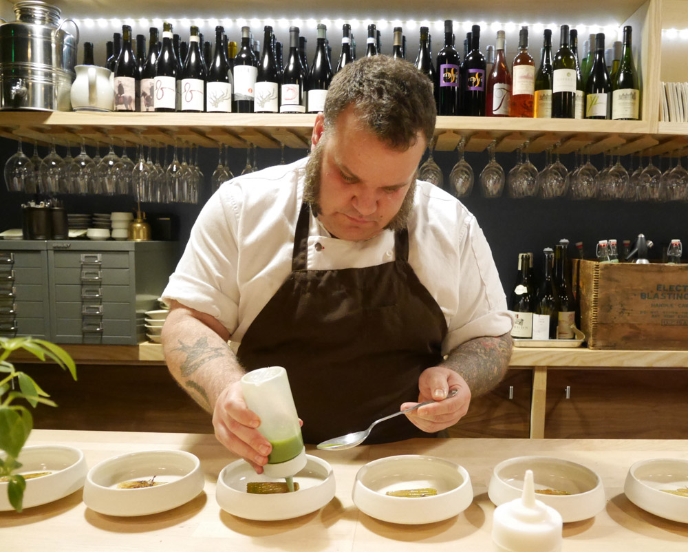 Chef Aaron Adams, Farm Spirit, SE Portland