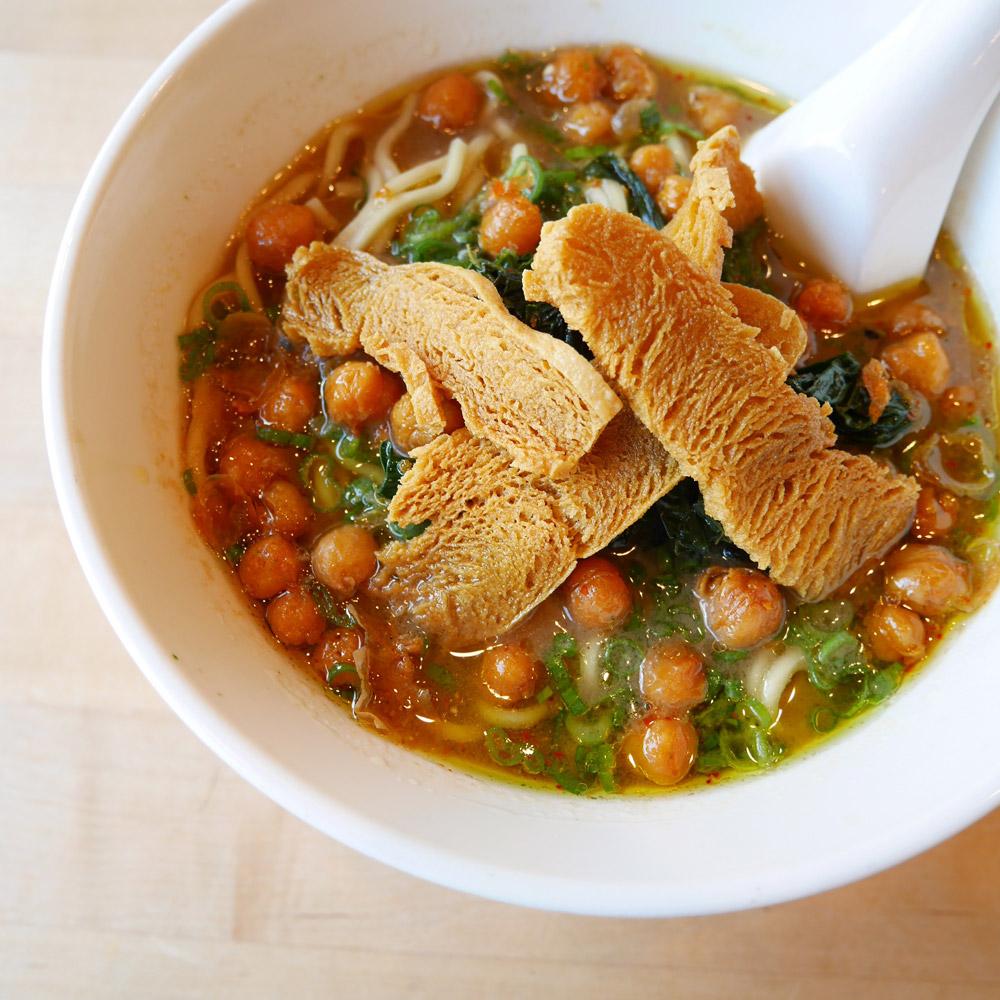 Hozon Chickpea Ramen, Momofuku Noodle Bar